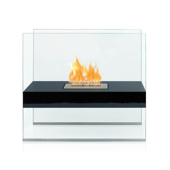 Anywhere Madison Ventless Free Standing Ethanol Fireplace, Fireplace - Yardify.com