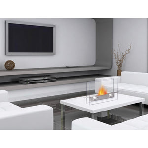 Anywhere Metropolitan Indoor Tabletop Ethanol Fireplace, Fireplace - Yardify.com