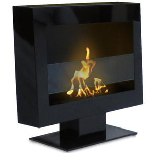 Anywhere Tribeca II Ventless Free Standing Ethanol Fireplace, Fireplace - Yardify.com