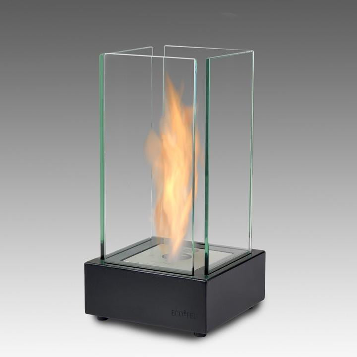 Eco-Feu Cartier Tabletop Ethanol Fireplace - Matte Black (TT-00106-MB), Fireplace - Yardify.com