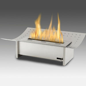 Eco-Feu XL Insert Ethanol Traditional Fireplace - Stainless Steel (FS-00116-SS), Fireplace - Yardify.com