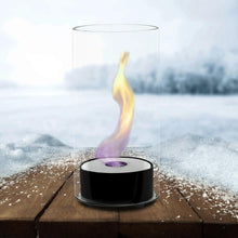 Load image into Gallery viewer, Eco-Feu Juliette Tabletop Ethanol Fireplace - Gloss Black (TT-00101-GB), Fireplace - Yardify.com
