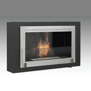 "Eco-Feu Montreal - 42"" UL Listed Wall Mounted / Built - In Ethanol Fireplace, Fireplace - Yardify.com"