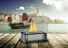 Load image into Gallery viewer, Eco-Feu Paris Tabletop Ethanol Fireplace - Black (TT-00134-GB), Fireplace - Yardify.com