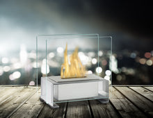 Load image into Gallery viewer, Eco-Feu Paris Tabletop Ethanol Fireplace - Stainless Steel (TT-00136-SS), Fireplace - Yardify.com