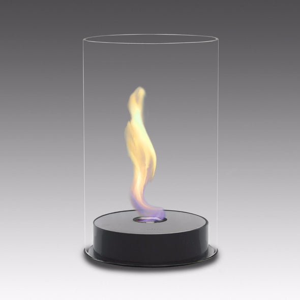 Eco-Feu Romeo Tabletop Ethanol Fireplace - Gloss Black (TT-00103-GB), Fireplace - Yardify.com