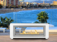 "Load image into Gallery viewer, Eco-Feu Santa Cruz 63"" Built - In / Free Standing See - Through Ethanol Fireplace (WS-00079-BS, WS-00080-SW, WS-00081-SS), Fireplace - Yardify.com"
