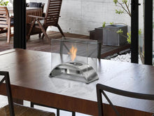 Load image into Gallery viewer, Eco-Feu Sunset Tabletop Ethanol Fireplace - Stainless Steel (TT-00114-SS), Fireplace - Yardify.com