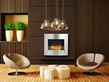 "Load image into Gallery viewer, Eco-Feu Wynn - 33.5"" UL Listed Wall Mounted / Built - In Ethanol Fireplace (WU-00071-MB, WU-00072-SS), Fireplace - Yardify.com"