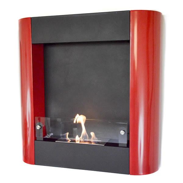 Nu-Flame Focolare Muro Noce Wall Mounted Ethanol Fireplace (NF-W3FOR)