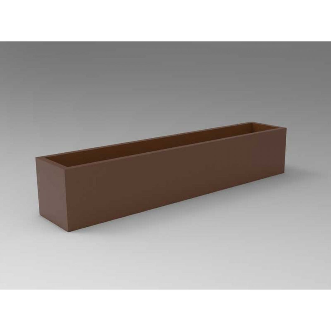 Salon Rectangular Fiberglass Planter Box