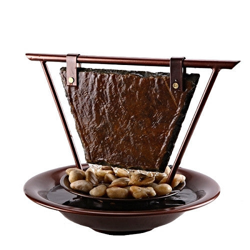 Bluworld USA Haiku Moon Tabletop Fountain (WWHMC), Fountain - Yardify.com