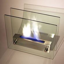Nu-Flame Irradia Portable Tabletop Ethanol Fireplace (NF-T2IRA), Fireplace - Yardify.com