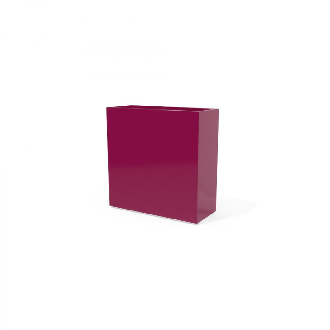 Milano Rectangular Fiberglass Planter Box: 24
