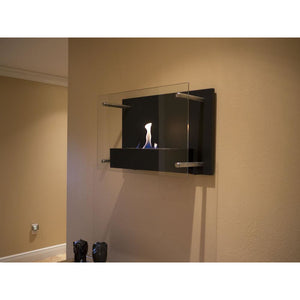 Bluworld Nu-Flame Radia Modern Wall Mounted Fireplace (NF-W4RAA), Fireplace - Yardify.com
