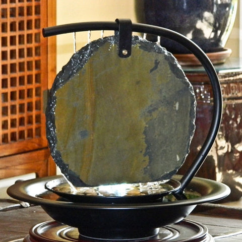 Bluworld USA Zen Moonshadow Tabletop Fountain - Yardify.com