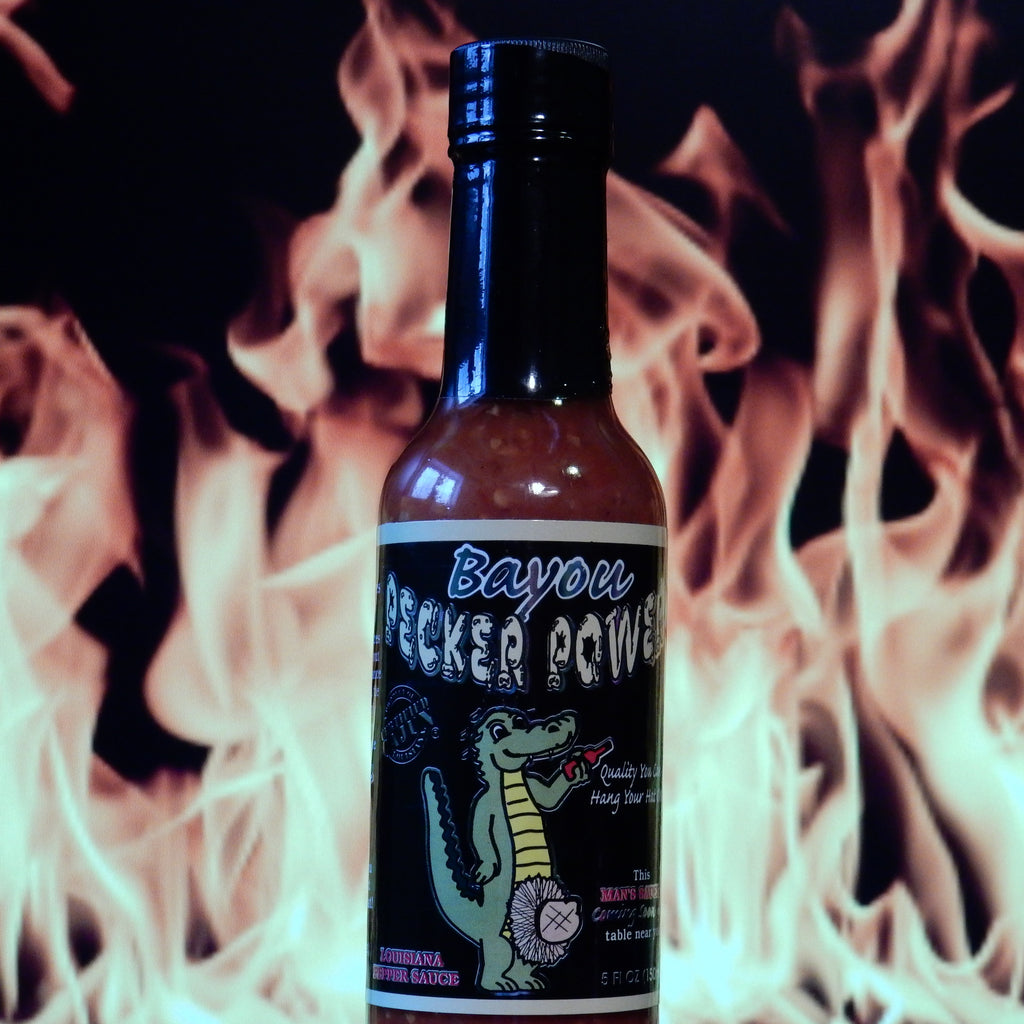 Bayou Pecker Power Louisiana Pepper Sauce