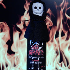 Ass Reaper With Skull And Cape Hot Sauce