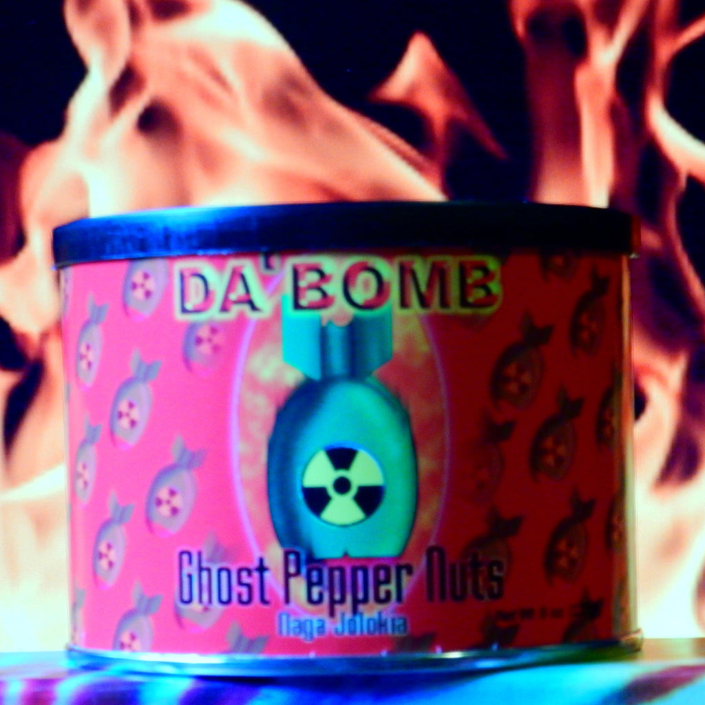 Da Bomb Ghost Pepper Nuts – Naga Jolokia