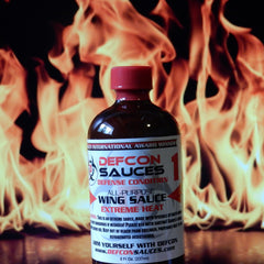 DEFCON Sauces – Defense Condition 1 Extreme Heat