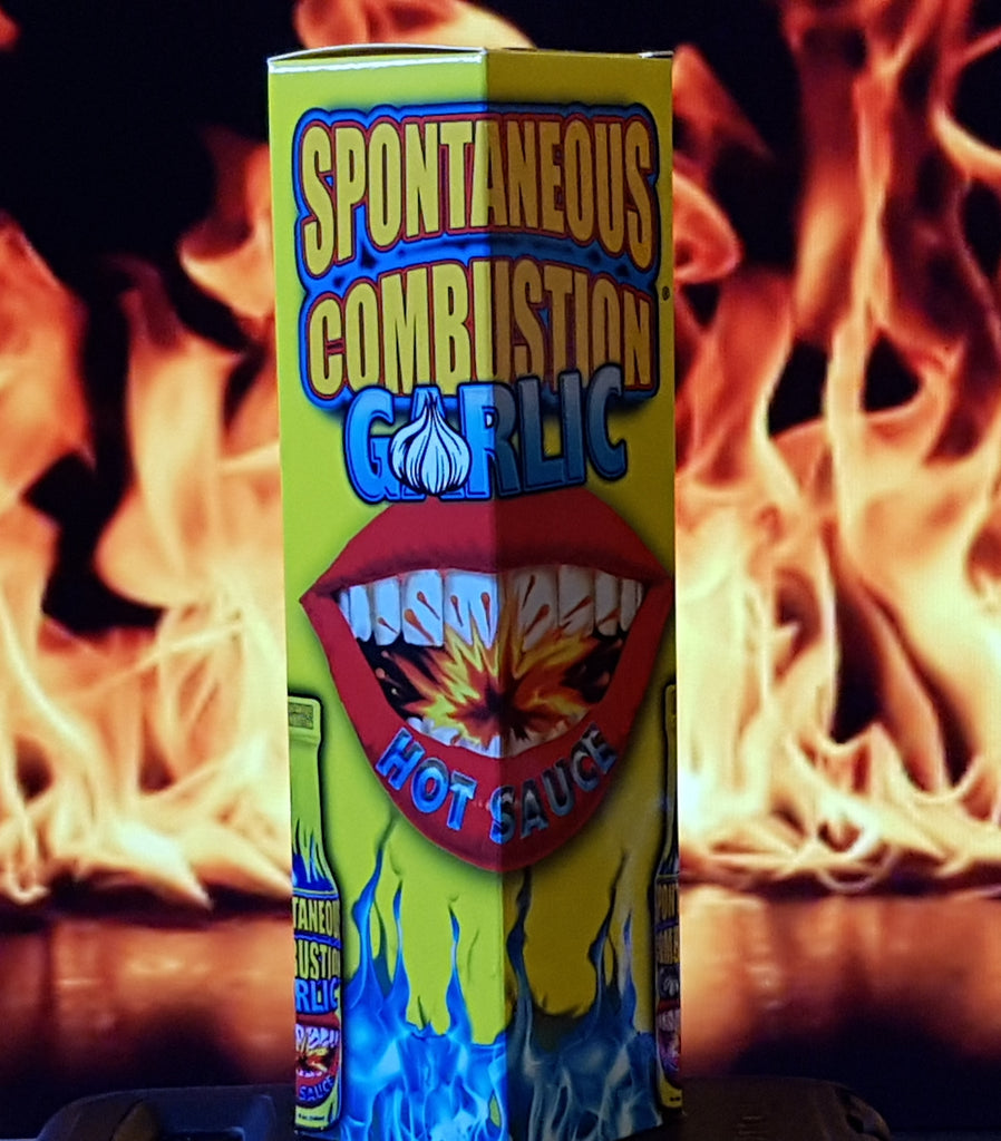 Spontaneous Combustion Garlic Hot Sauce