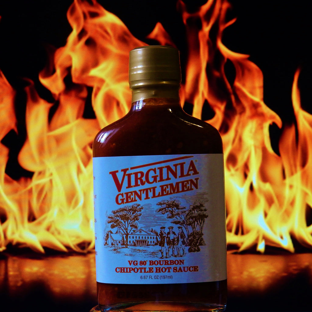 Virginia Gentleman Bourbon Chipotle Hot Sauce