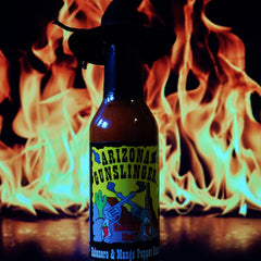 Arizona Gunslinger Smokin Hot Habanero and Mango Hot Sauce