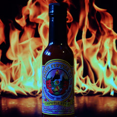 Maui Pepper Smokin' Mangoes Chipotle Style Extra Hot Sauce