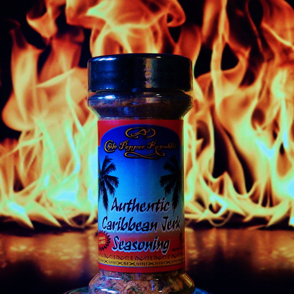 Chile Pepper Republic Authentic Caribbean Jerk Seasoning