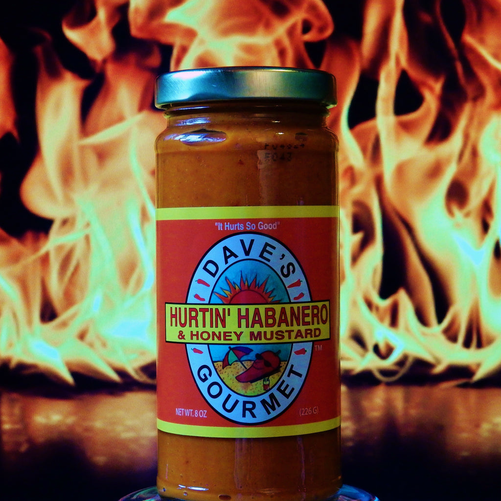 Dave's Hurtin' Habanero and Honey Mustard