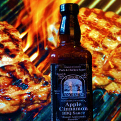 Historic Lynchburg Tennessee Whiskey Apple Cinnamon BBQ Sauce