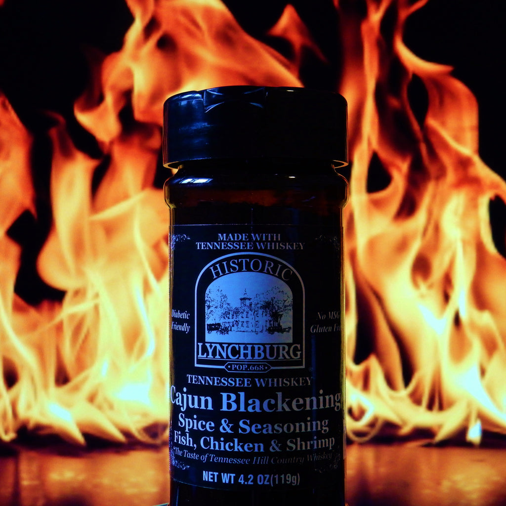 Historic Lynchburg Tennessee Whiskey Cajun Blackening Spice and Rub