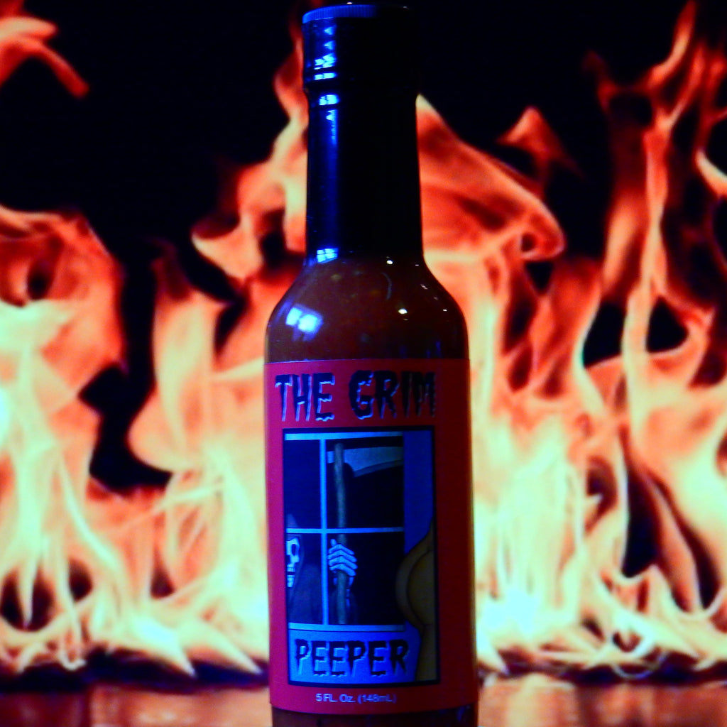 The Grim Peeper Scorpion Pepper Sauce