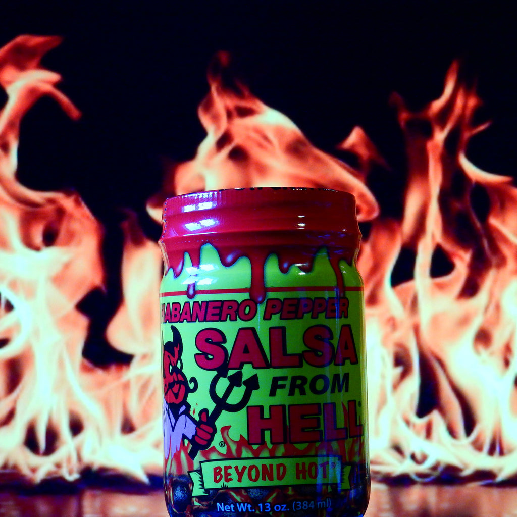 Habañero Salsa From Hell Beyond Hot