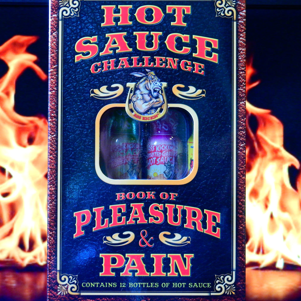 Hot Sauce Challenge Book of Pleasure & Pain Minis