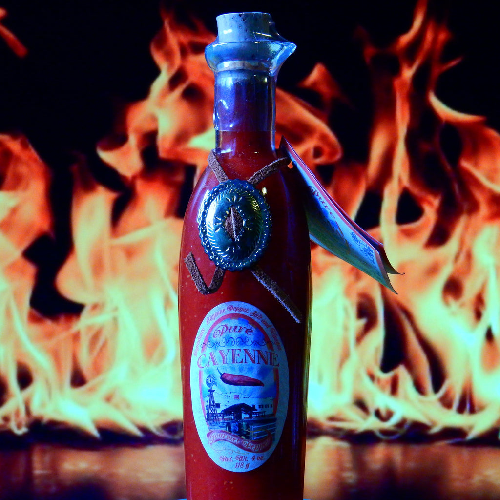 Pure Cayenne Gourmet Pepper Hot Sauce
