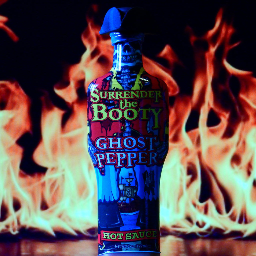 Surrender The Booty Ghost Pepper Hot Sauce