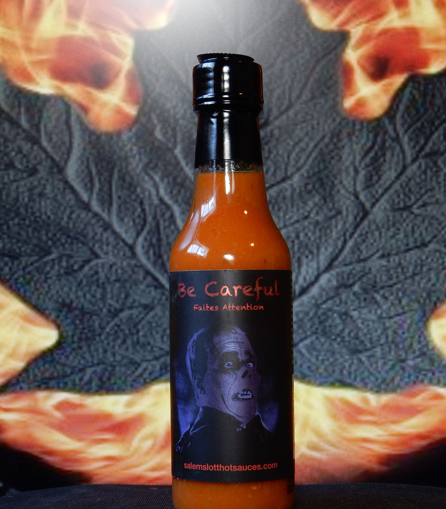 Salem's Lott Scary Hot Sauces - Be Careful