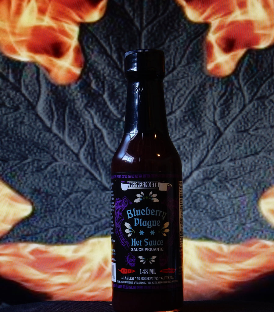 "Blueberry Plague ""Blueberry with Scorpion Peppers"" Hot Sauce"