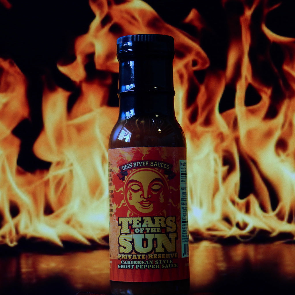 High River Sauces Tears Of The Sun Caribbean Style Ghost Pepper Sauce Private Reserve