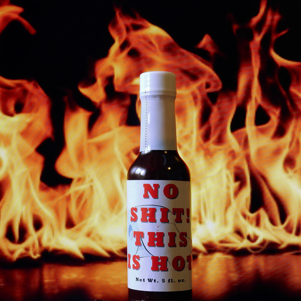 No Shit! This Is Hot Habañero Hot Sauce