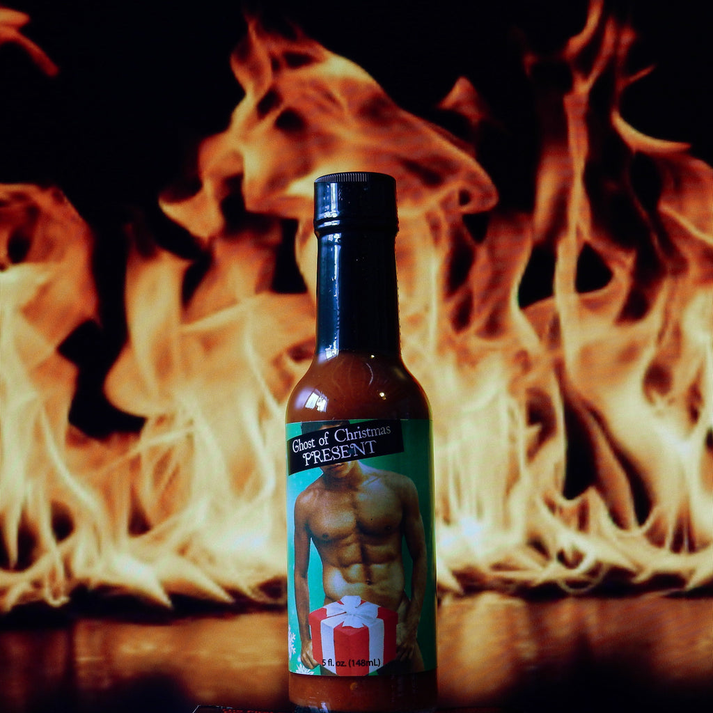 Ghost Of Christmas Present Jolokia Ghost Pepper Hot Sauce
