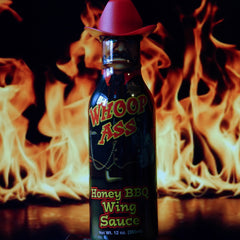 Whoop Ass Honey BBQ Wing Sauce