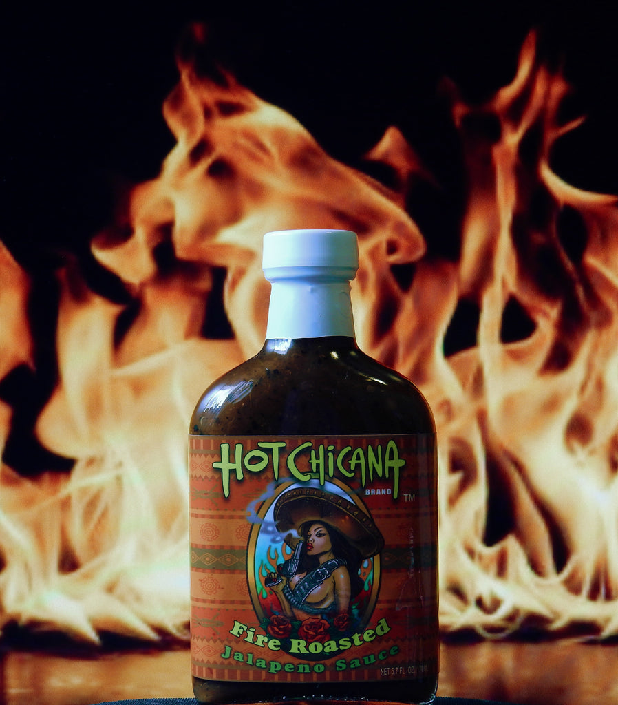 Hot Chicana Fire Roasted Jalapeño Sauce