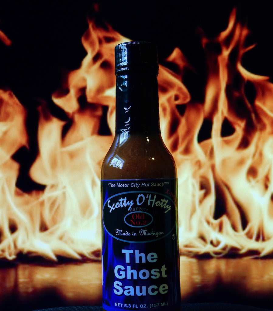 Scotty O'Hotty The Ghost Sauce