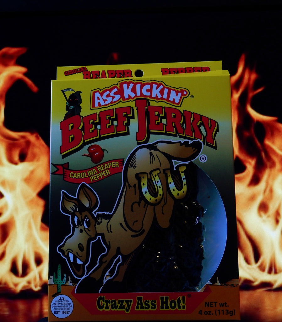 Ass Kickin' Carolina Reaper Pepper Beef Jerky