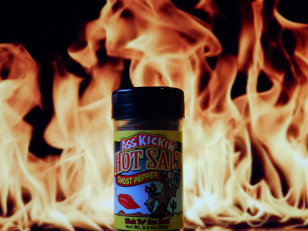 Ass Kickin' Ghost Pepper Hot Salt