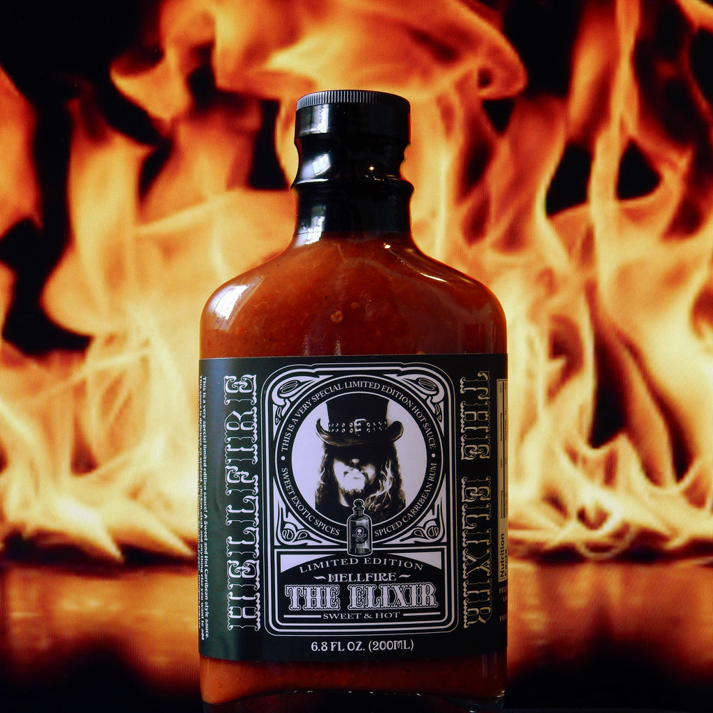 The Elixir Hot Sauce- Hellfire Hot Sauce