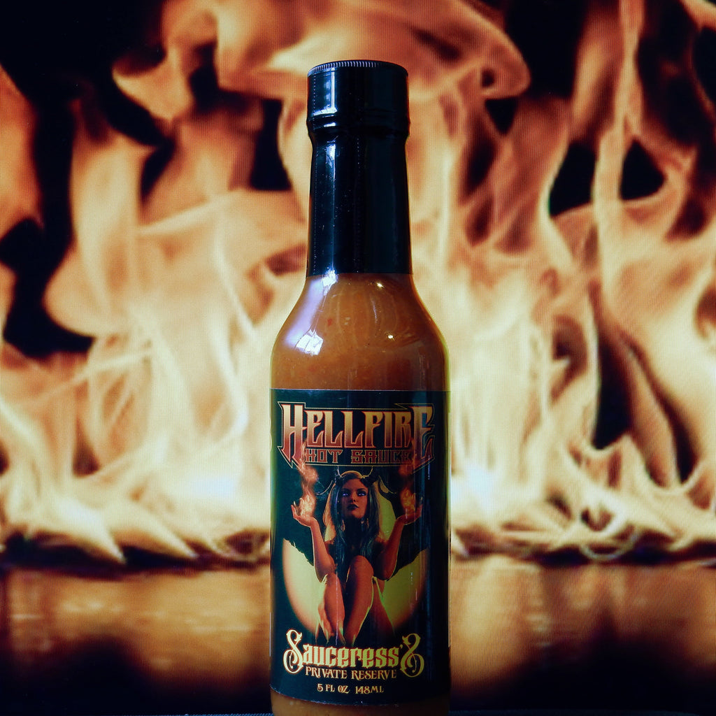 The Sauceress's Private Reserve- Hellfire Hot Sauce
