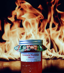 Backyard Ginger Pepper Jelly